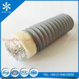 Conducto flexible del aislante del PVC de Combi del aire acondicionado de la ventilación
