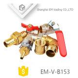 Шаровой клапан в алюминиевую ручку /бабочка рукоятку (EM-V-B153)