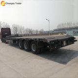 中国の工場低いベッドのトレーラー、40FTユーティリティトレーラトラック