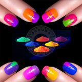 Лак для ногтей - градиент пигмент Флуоресцентный краситель/Омбре неоновыми пигмента