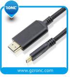 Gold-Plated Übertragung USB-Kabel-Typ Kabel USB-3.1 schneller c-HDMI