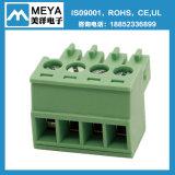 Пластичные электрические блоки винта терминальные
