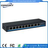 Interruttore di rete completo Port di Poe di gigabit 10 (POE0820N-3)