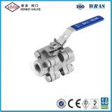 Clapet à bille en acier inoxydable avec la norme ISO5211