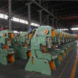 Peças de automóvel J23 máquina de perfuração de perfuração da imprensa de potência da maquinaria do metal Inclinable de 80 toneladas