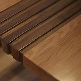 Tabella pranzante domestica di legno solido della mobilia (CH-633)