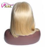 Parrucca bionda brasiliana all'ingrosso di Bobo di colore dei capelli 10A di Xbl
