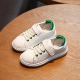 Спорт малышей ботинок ботинок младенца новой конструкции мягкий белый обувает детей вскользь Prewalker
