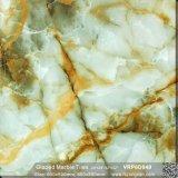Material de construcción de color verde de mármol pulido de suelos de porcelana esmaltada (600x600mm, VRP6D049)