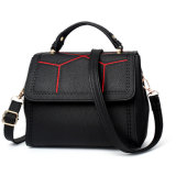 Exquisite PU prático saco de lona de couro bolsas das mulheres