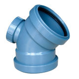 플라스틱 관 PP 물 배수장치를 위한 운반 이음쇠를 가진 90 Deg 팔꿈치