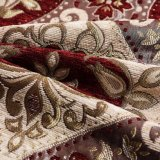 100 Stof van de Bank Chenille van de polyester de Materiële Dubbele voor Stoffering