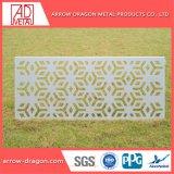صنع وفقا لطلب الزّبون تصميم زخرفيّة يثقب معدن لوح لأنّ جدار