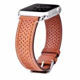 riem van het Horloge van het Leer van de Luxe van 38/42mm de Echte voor het Horloge van de Appel, voor de Band van Iwatch van de Appel