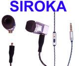Bidirektionaler Metallradio-Kopfhörer für iPhone 6 und Samsung