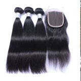 Uprocessed 9un noir naturel vierge péruvienne abordable offre groupée de cheveux