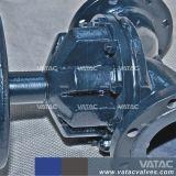 Klep van het Diafragma van het Type van Waterkering van het Gietijzer van Vatac De rf Van een flens voorzien