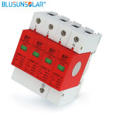 Rail DIN 35 mm contre les surtensions de foudre 80KA 4p 385V Dispositif de protection contre les surtensions