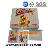 14-20GSM tout le papier de roulement de main de taille pour l'emballage de tabac