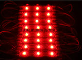 módulo da injeção do diodo emissor de luz do Elevado-Brilho SMD5050 de 0.72W 3LEDs com o Len para sinais iluminados ao ar livre