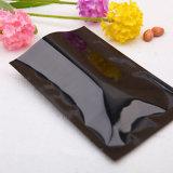 Передний ясно назад черный Zip герметичный майларовый мешки для длительного сохранения продуктов питания