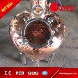 100L steuern Spiritus-Destillierapparat, industrielles Spiritus-Destillation-Gerät mit Glasspalte automatisch an
