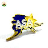 Factory Supply Cheap Customized Design Metal Lapel Pin Badge Custom Soft Enamel Logo