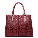 4개의 색깔 PU 여자 핸드백 형식 중국제 매끄러운 최신 판매 가죽 가방 Sy8612