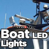 Submarino Certificado IP68 Proyector LED 200W para el barco y uso marino