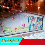 La impresión digital en color de cristal de PVC perforado pegatina de una manera de visión para firmar y la publicidad de cine extraíble de la ventana