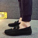 Уникальные мужские Мягкий велюр моккасин туфли движении туфли лодки обувь для мужчин