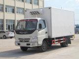 Nouveau Desigend Foton Rhd petit congélateur des marchandises réfrigérées Van Box pour la vente du chariot