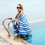 Promotion de la serviette de plage en microfibre avec sac de transport