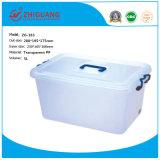 Boîte de rangement en plastique, conteneur de stockage de promotion de la conception créative