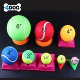 De alta calidad OEM de entrenamiento de mascotas perro Pelota de goma duradera de juguete pelotas de tenis