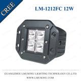 Feu de travail LED 12W 3 pouce 10-30V 6000K CREE des pièces de voiture pour les chariots