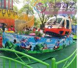 Juguete para niños el equipo de Diversiones Parque de Atracciones de la familia de aviones rotativo Auto Paseos en avión