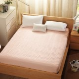 Quilting carpete sheet à prova de Protector de cama elástica