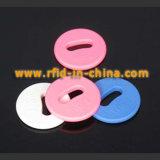 Mini étiquette de blanchisserie d'IDENTIFICATION RF - 07