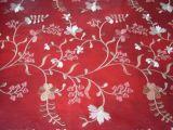 Tessuto per divano in PVC ricamato (DSC0236)