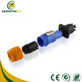 IP67 cable connecteur extérieur de fil d'étalage du panneau DEL