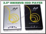 2.5-inch RM/RMVB HDD-mediaspeler (RM-801D)