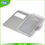 PU-lederner Mappen-Kasten mit Einbauschlitz-Standplatz-Deckel für Samsung G5308W