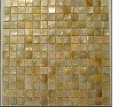 Mosaico de shell de forma de círculo (TMC004-W)