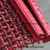私の物のふるうことおよび粉砕機のための高炭素の鋼鉄重いひだを付けられた編まれた金網