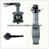 Válvula de borboleta de CF8m sem Pin (WD7L1X-10/16)