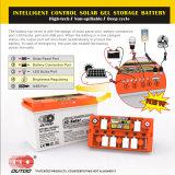 12V120ah 지도 산 UPS AGM 누산기 가득 차있는 젤 재충전용 깊은 주기 VRLA 태양 전지 SLA SMF 고가는 장기 사용 공장 Batery를 능가한다