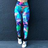 América populares e elevação do quadril cintura fechando a venda directa de fábrica calças de Tamanho Grande Calças Capris ioga
