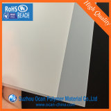 915*1220mm transparente Matt feuille PVC rigide pour l'impression de cartes de visite