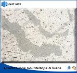 Gebouwde Steen voor de Bovenkant van de Ijdelheid van de Plakken van het Kwarts met SGS Normen (Marmeren kleuren)